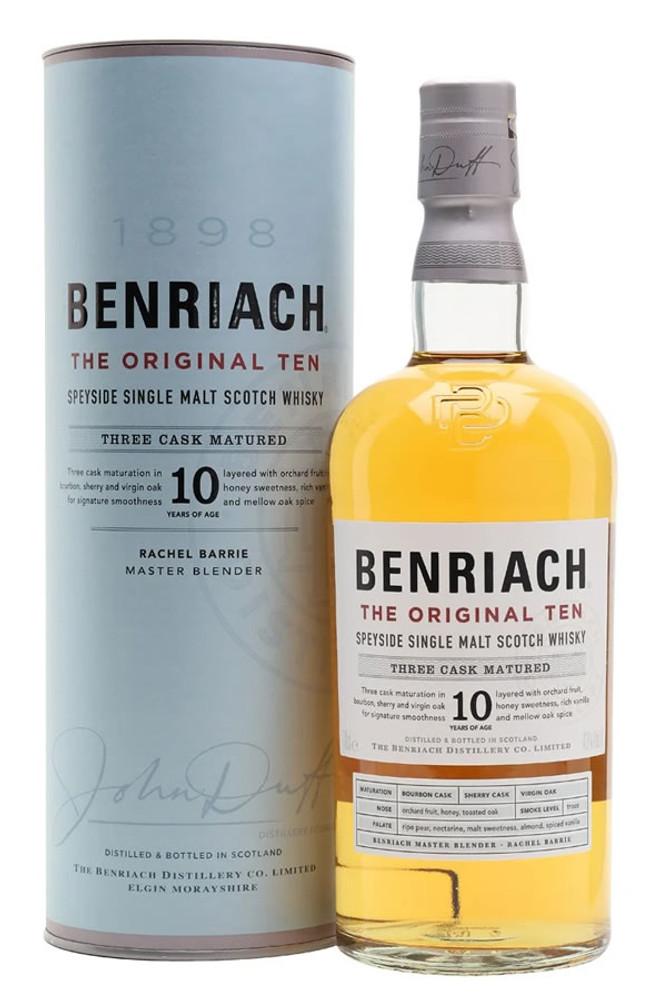 Benriach Original 10 Year Single Malt Scotch Whisky