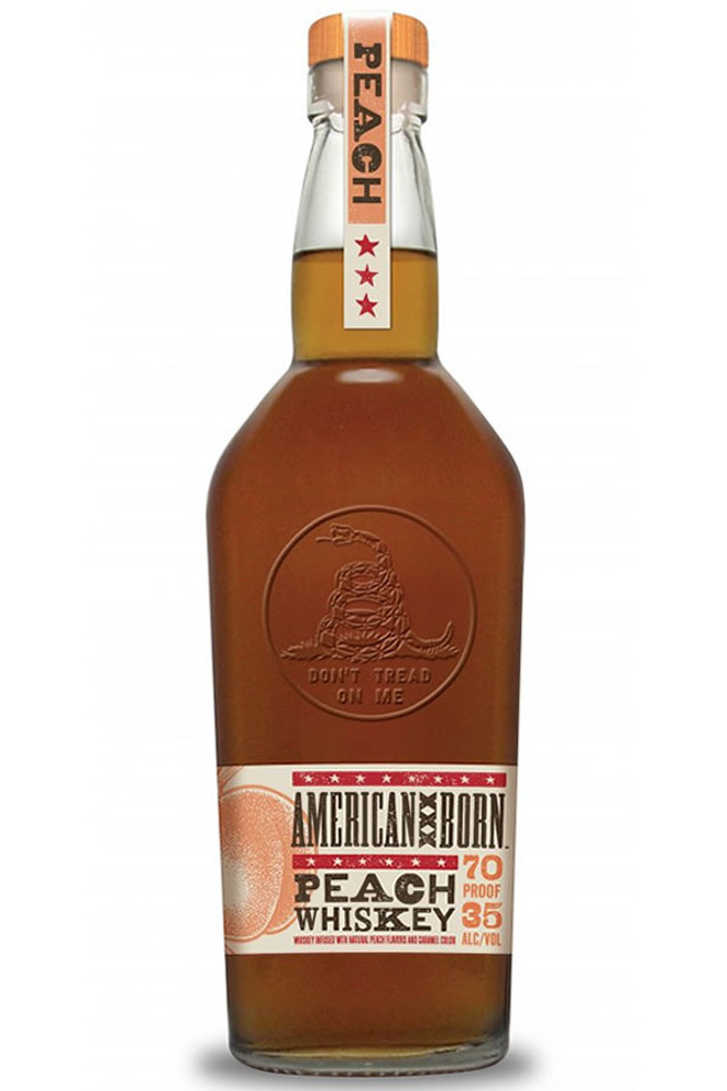 American Born Peach Whiskey