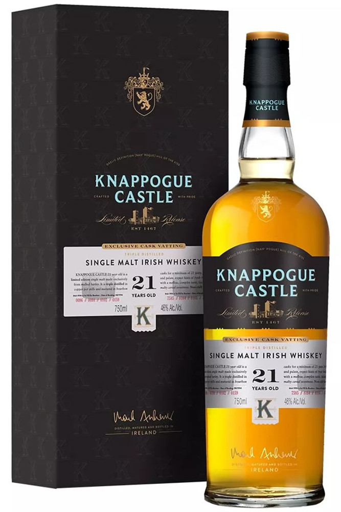 Knappogue Castle 21 Year Irish Single Malt