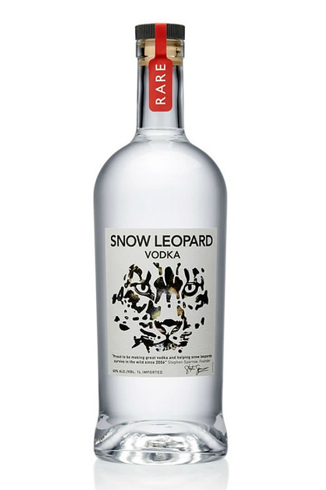 Snow Leopard Vodka 750ML