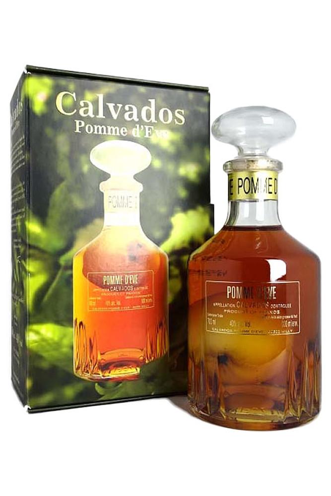 Pomme d'Eve Calvados Apple in Bottle