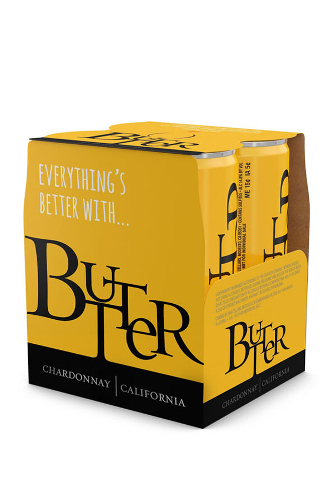 Butter Chardonnay Cans 4 Pack