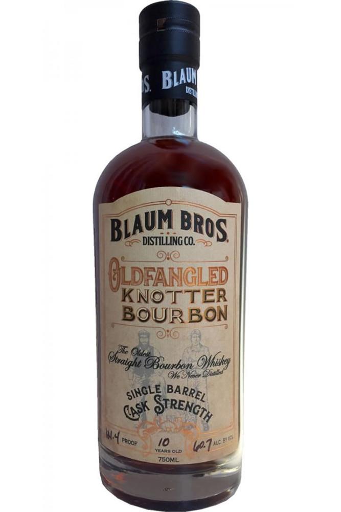 Blaum Bros. Distilling Co Oldfangled Knotter Bourbon Cask Strength 10 Year