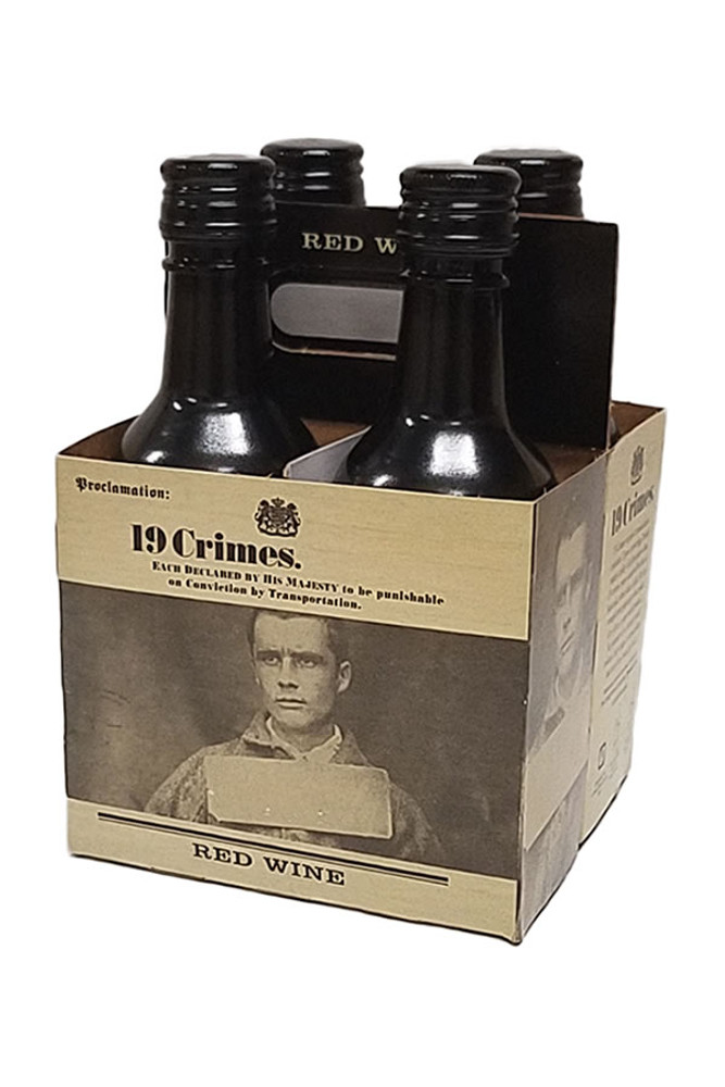 19 Crimes Red Blend 4PK
