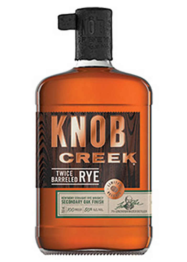 Knob Creek Twice Barreled Rye