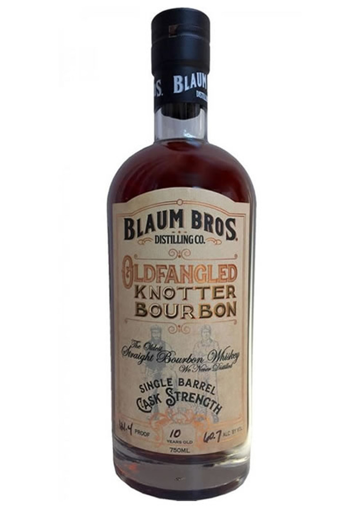 Blaum Bros. Distilling Co Oldfangled Knotter Bourbon Cask Strength 12 Year