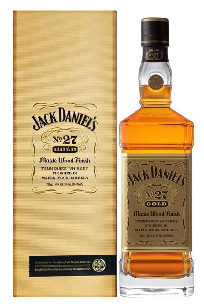 Jack Daniels No 27 Gold Maple Wood Finish