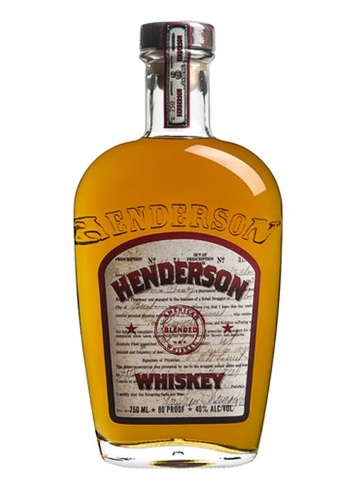Henderson American Whiskey 1.75L