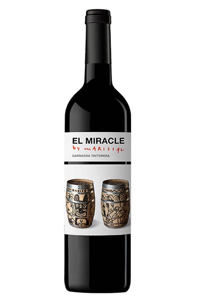 Vicente Gandia El Miracle Garnacha by Mariscal