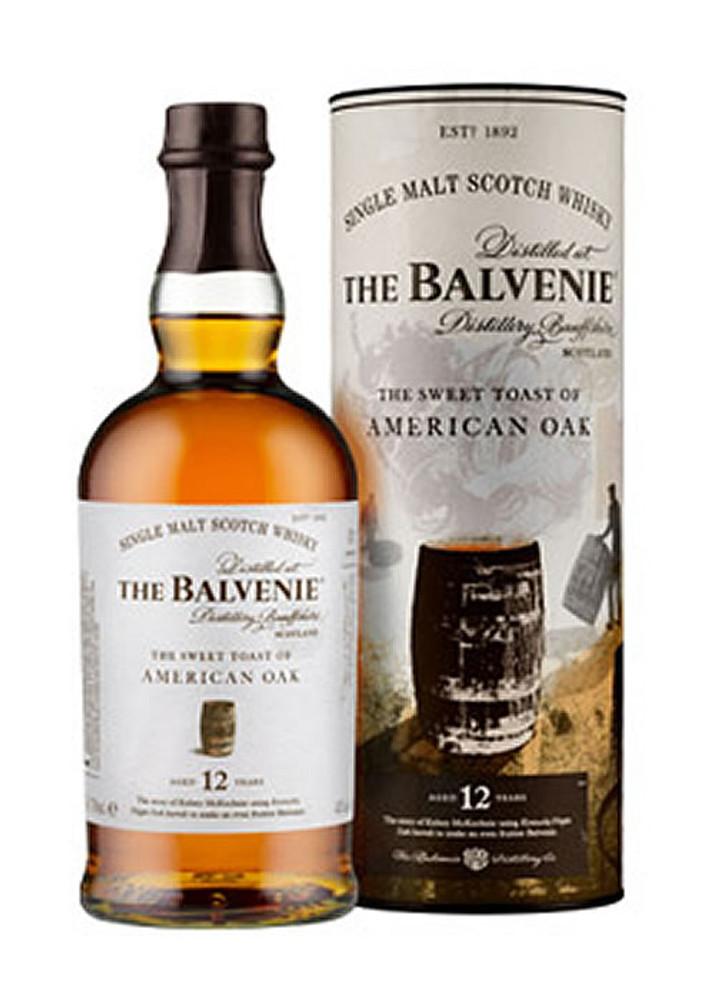 Balvenie 12 Year The Sweet Toast of American Oak