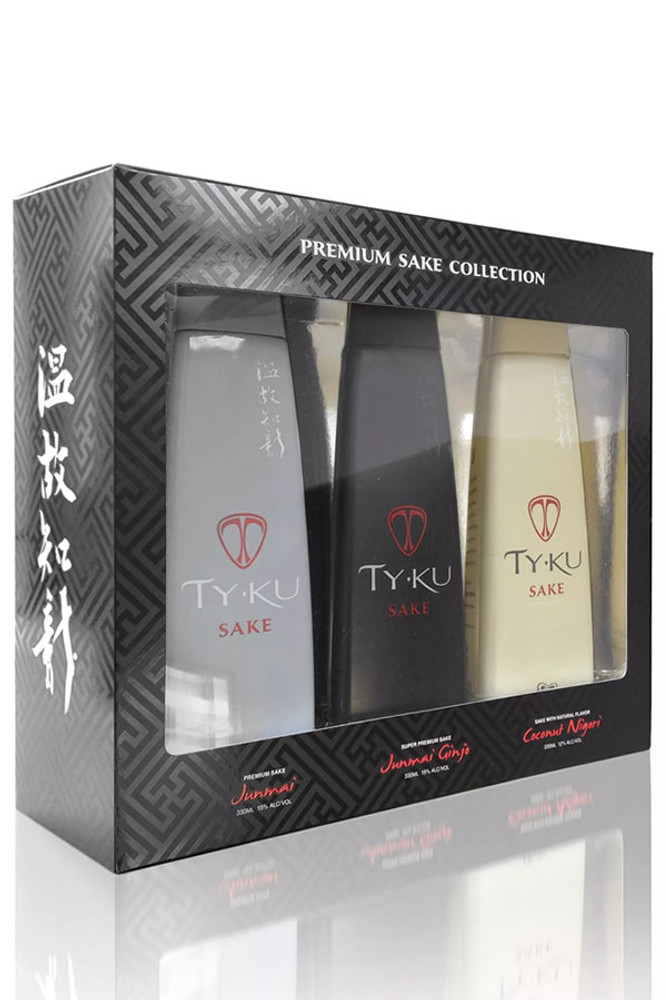 Ty Ku Premium Sake Collection
