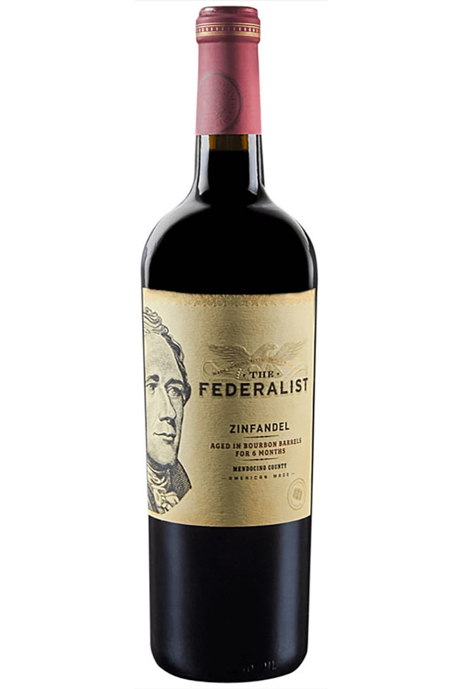 Federalist Zinfandel Bourbon Barrel Aged