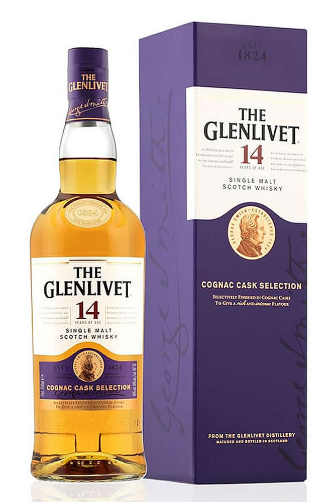 Glenlivet 14 Year Cognac Cask Selection
