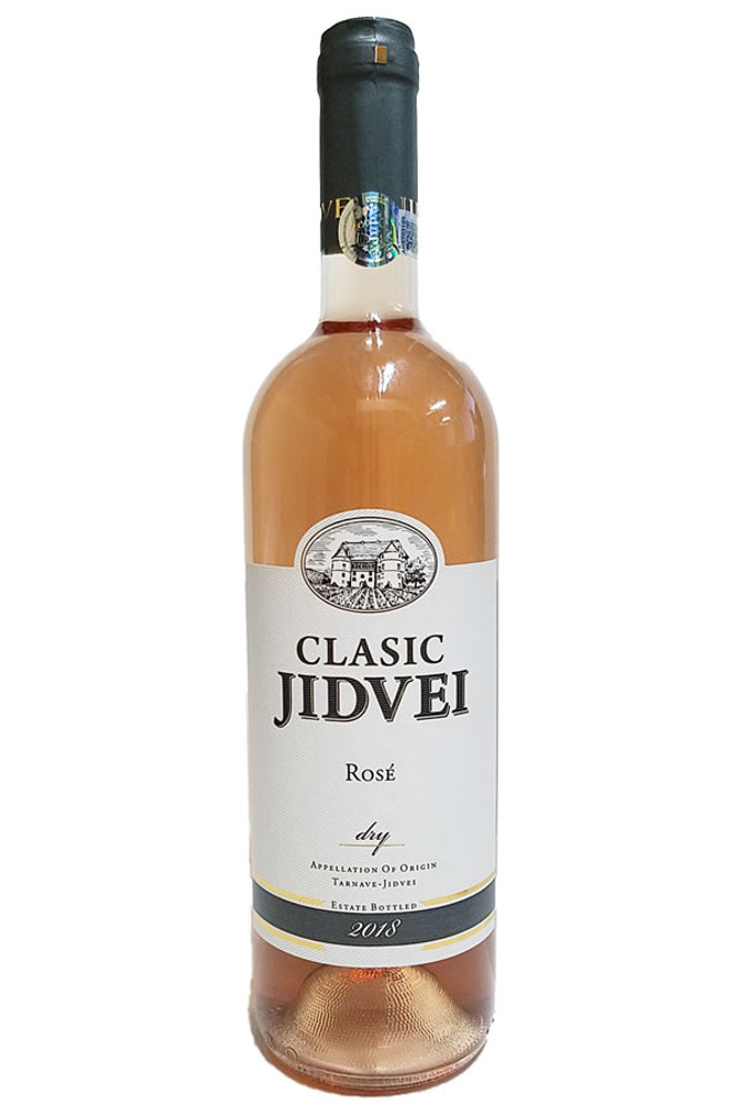 JIDVEI ROSE Romanian White Wine 750ml