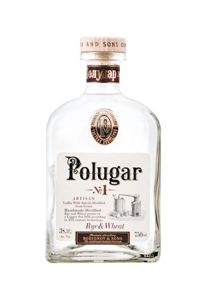 Polugar Rye And Wheat Breadwine Spirit