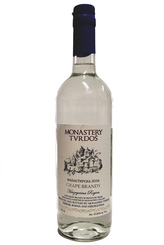 Monastery Tvrdos Grape Brandy