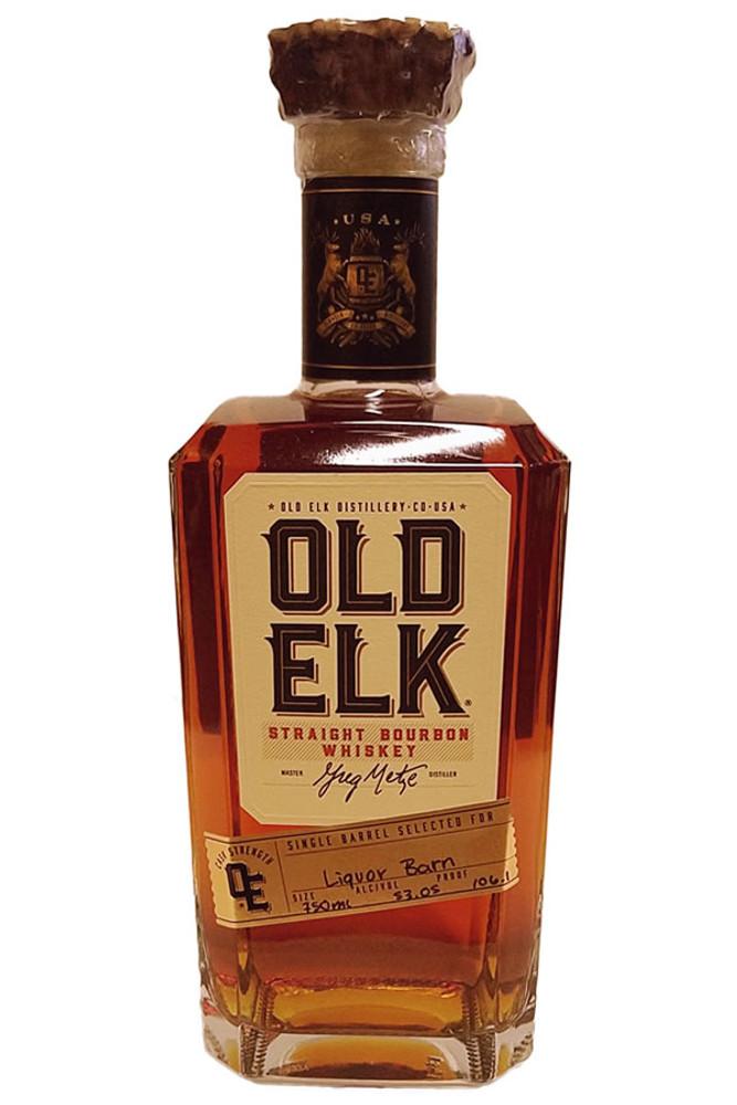Old Elk Cask Strength Single Barrel Bourbon