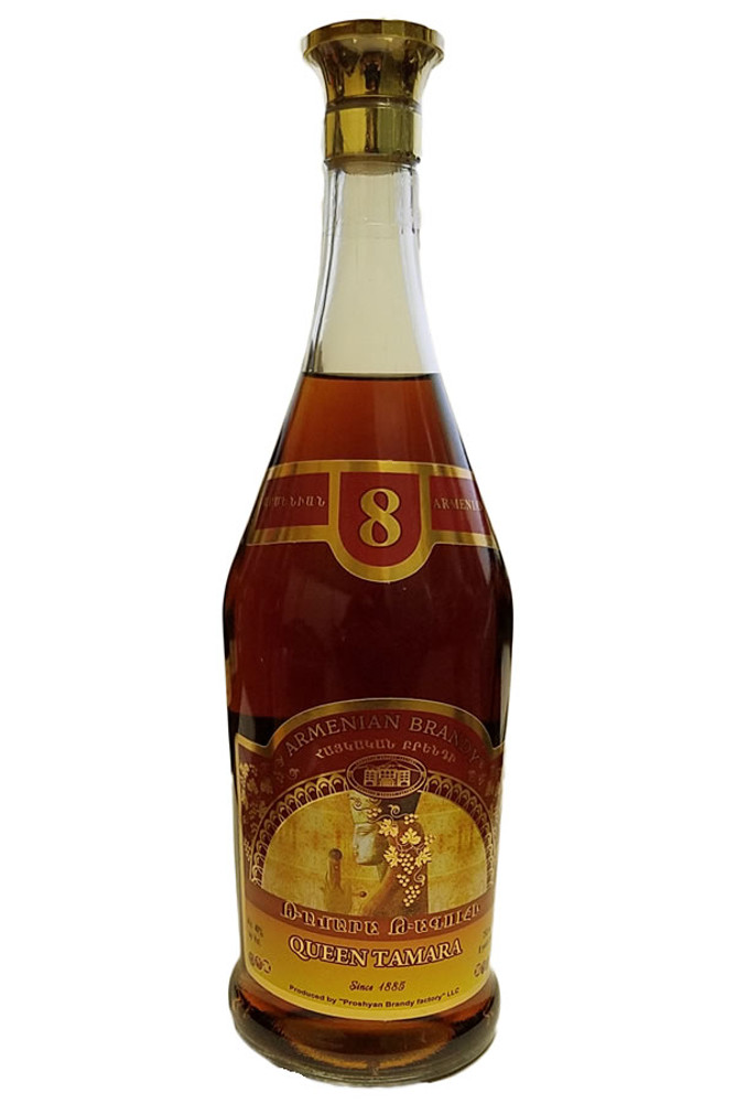 Queen Tamara 8 Year Brandy