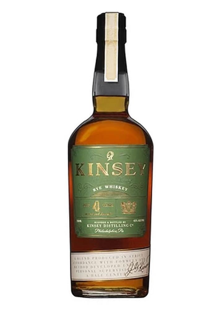 Kinsey 4 Year Rye Whiskey