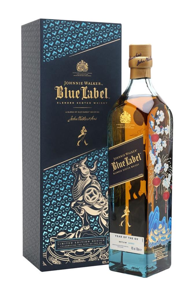 Johnnie Walker Blue Label Year Of OX