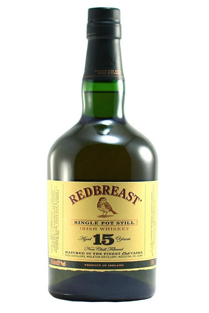 Redbreast 15 Year Irish Whiskey