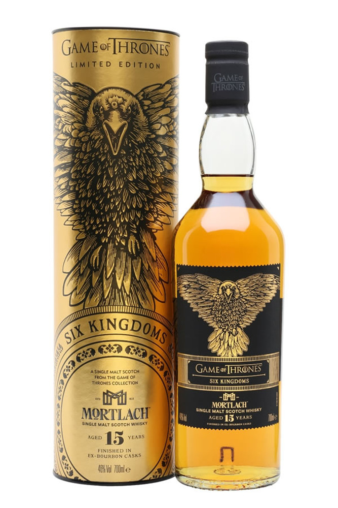 Game Of Thrones Six Kingdoms Mortlach 15 Year