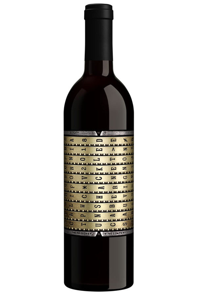 Unshackled Cabernet Sauvignon by The Prisoner Wine Co
