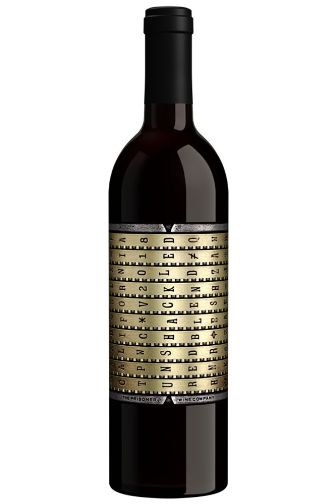 Unshackled Red Wine by The Prisoner Wine Co