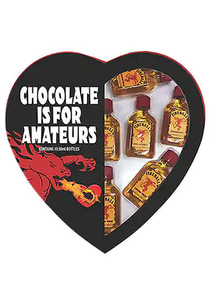 Fireball Cinnamon Whisky Heart