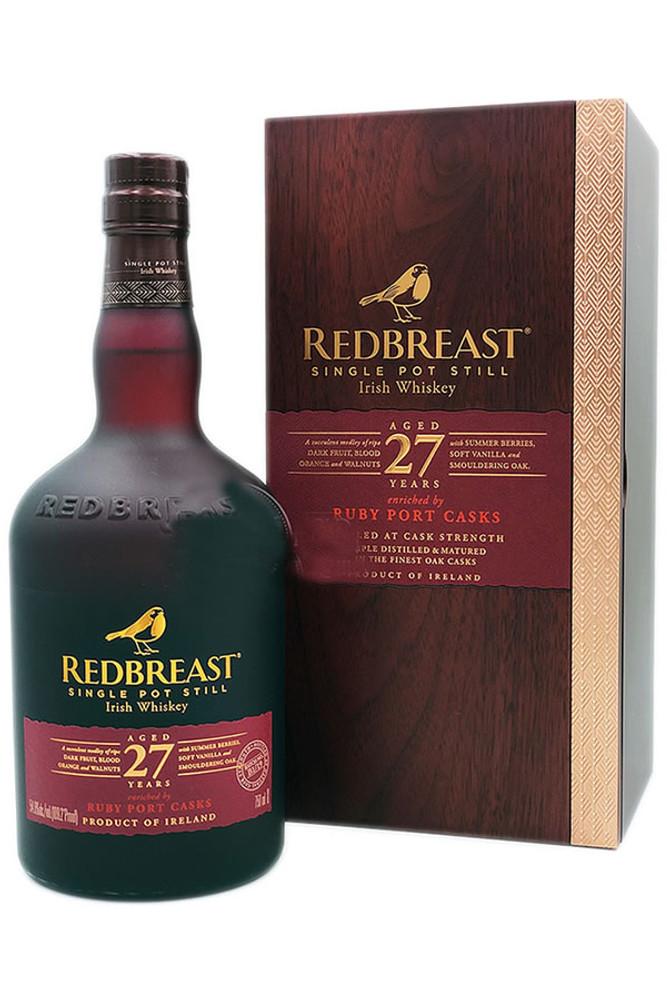 Redbreast 27 Year Irish Whiskey