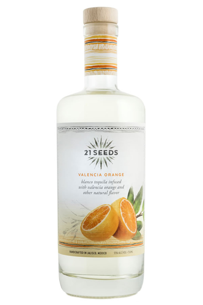 21 Seeds Valencia Orange Tequila