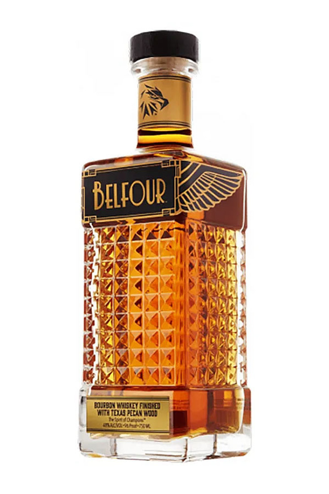 Belfour Texas Pecan Wood Finished Bourbon