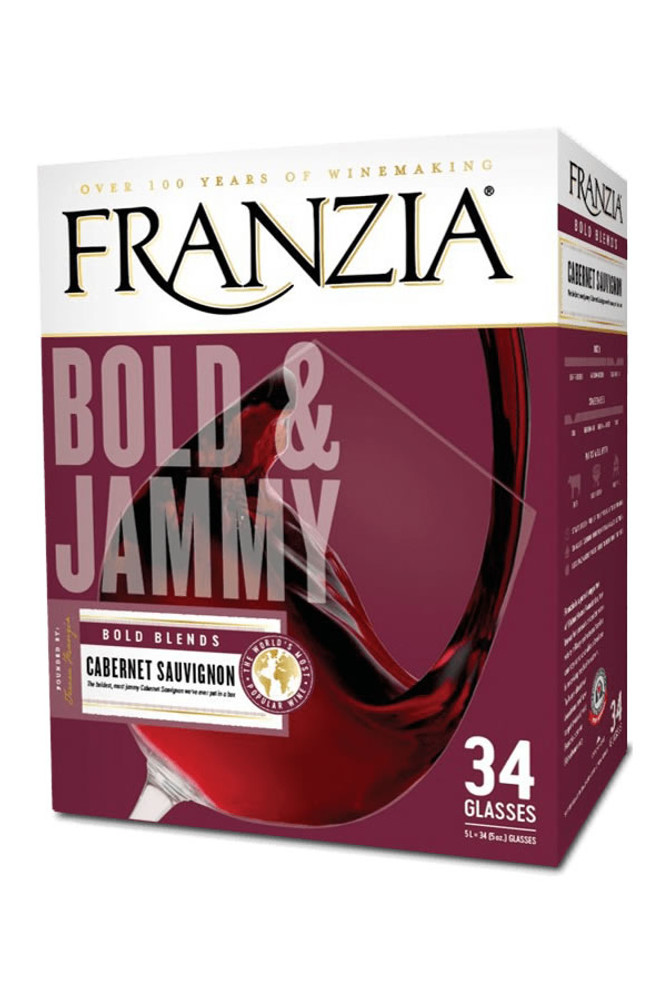 Franzia Bold and Jammy Cabernet Sauvignon