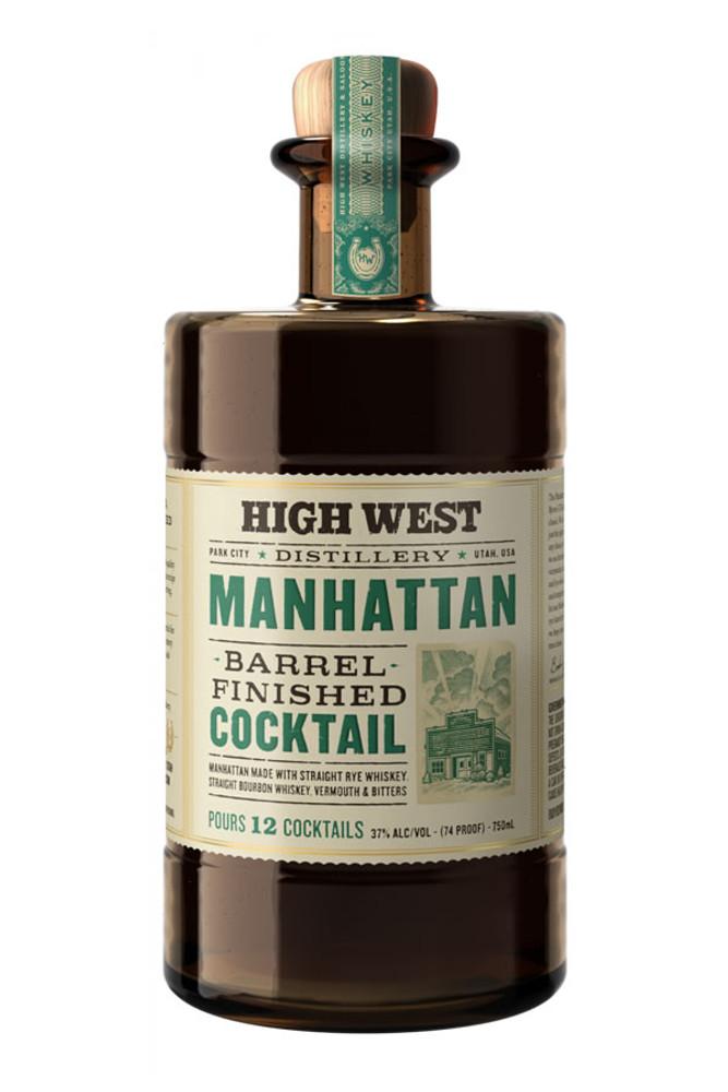 High West Barrel Finished Manhattan
