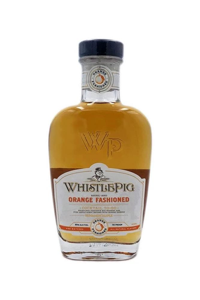 Whistlepig Orange Fashioned