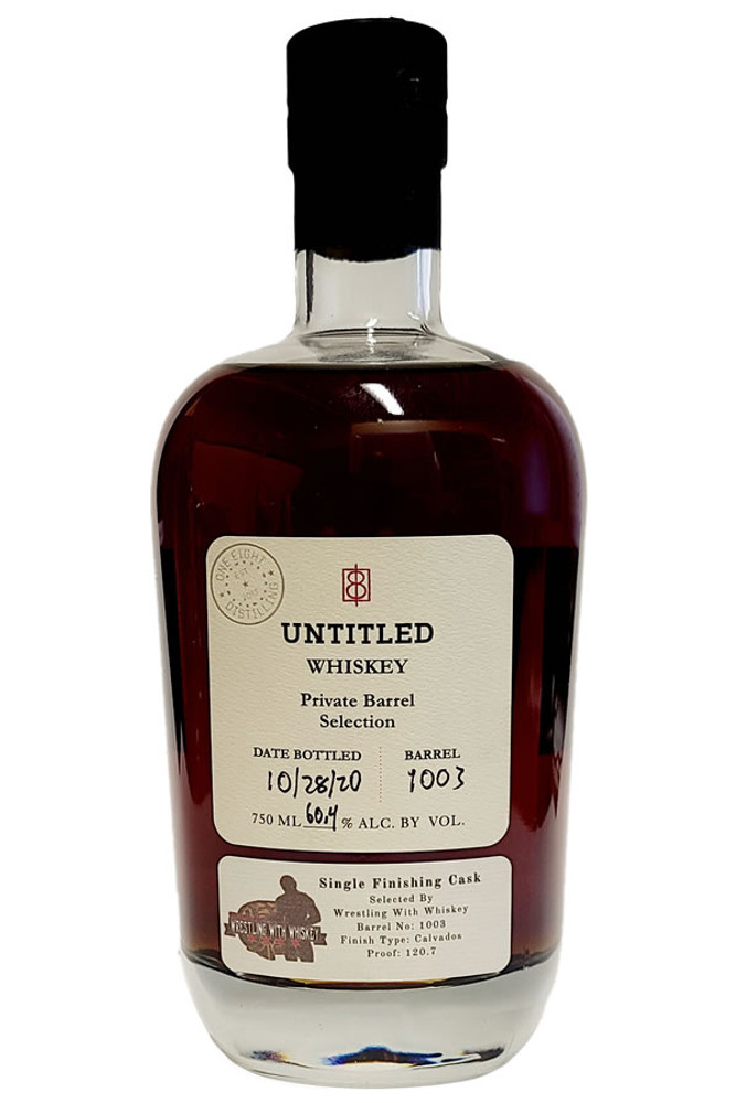 One Eight Untitled 10 Year Barrel Calvados Finish WWW