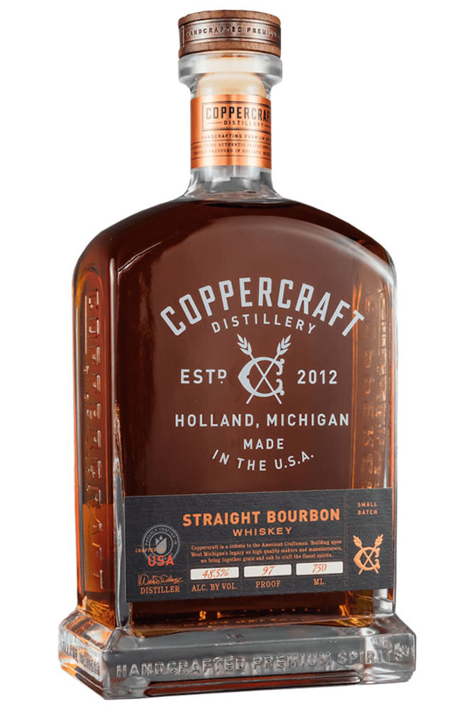 Coppercraft Distillery Straight Bourbon