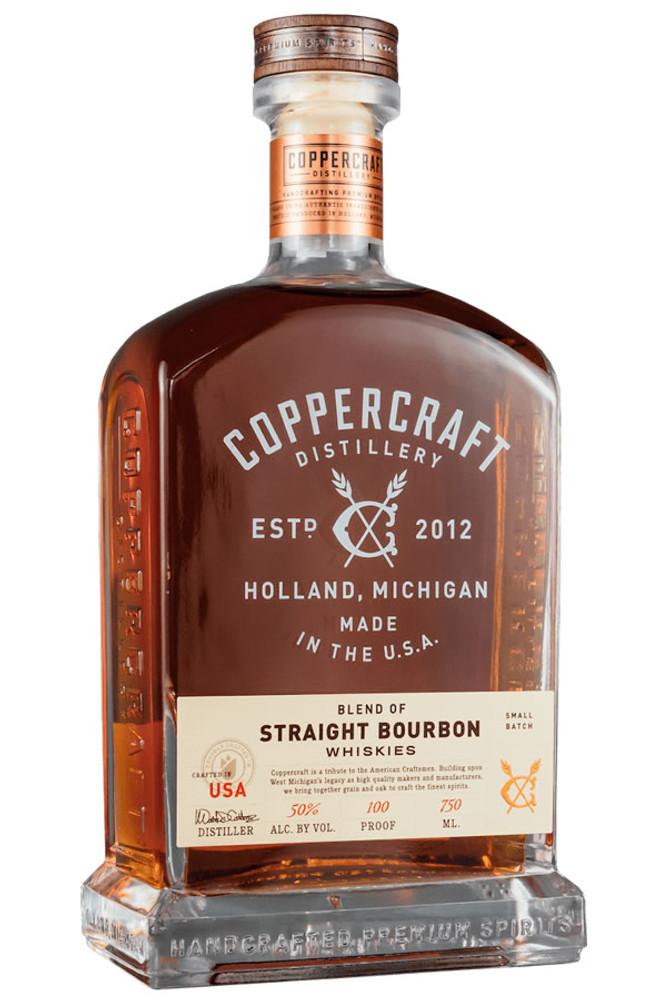 Coppercraft Distillery Blend of Straight Bourbon