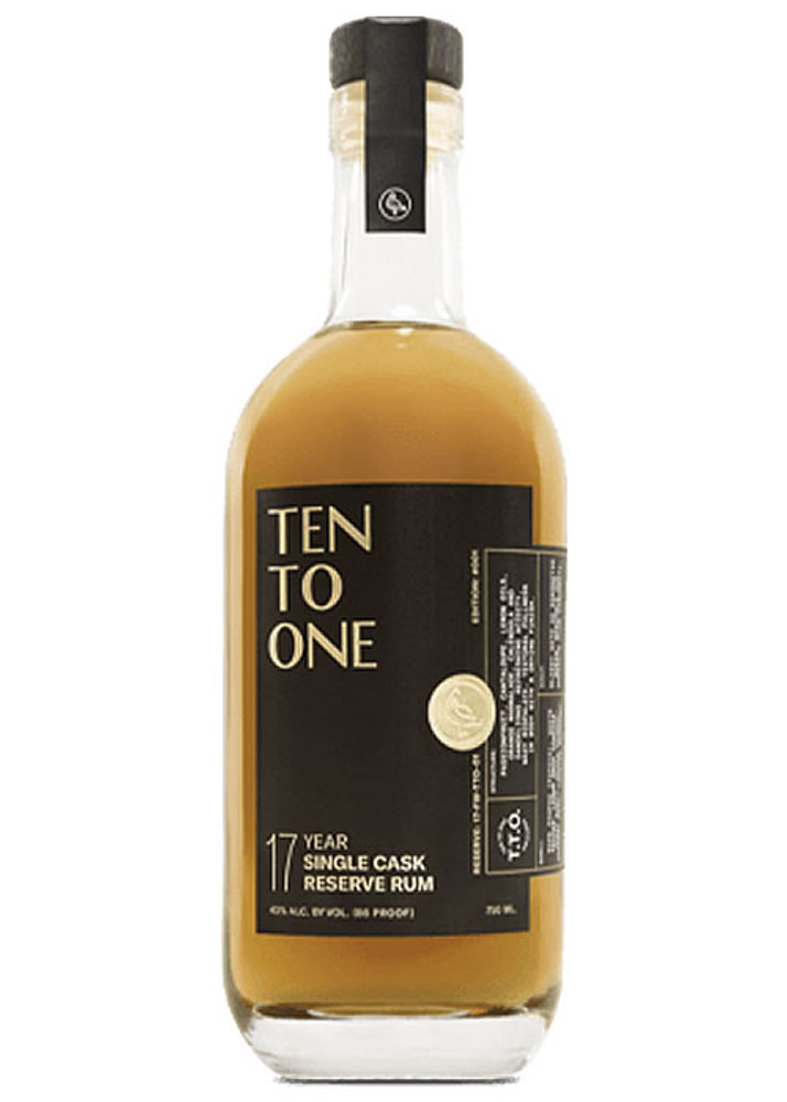 Ten To One 17 Year Reserve Rum