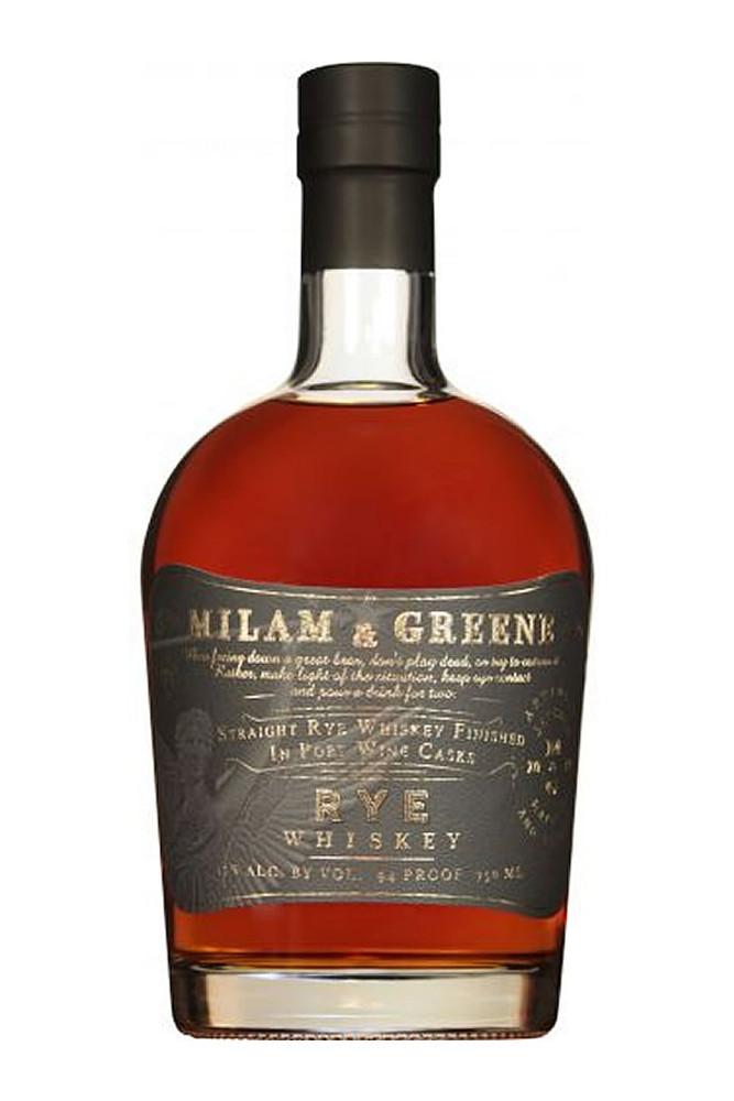 Milam & Greene Port Cask Rye