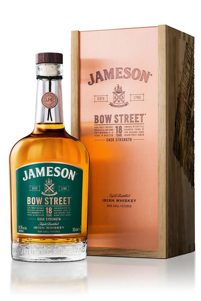 Jameson Irish Bow Street 18 Year Cask Strength Irish Whiskey