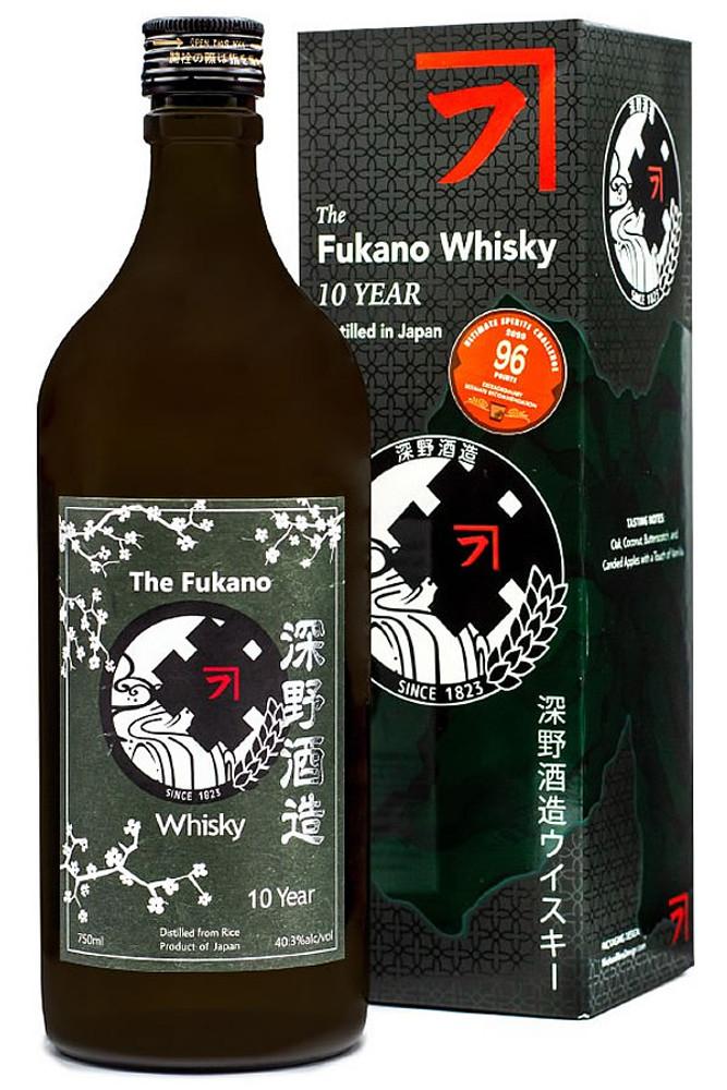 Fukano 10 Year Whiskey