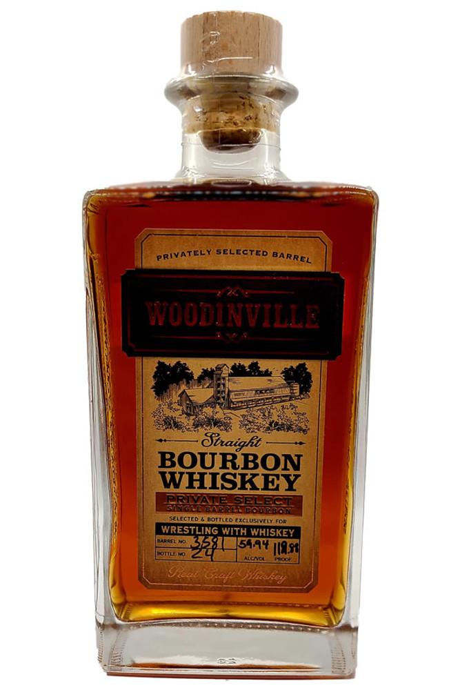 Woodinville Single Barrel Cask Strength Bourbon WWW