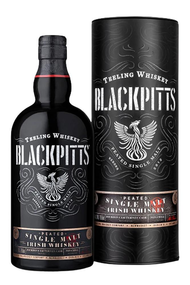Teeling Blackpitts Peated Irish Single Malt Whiskey