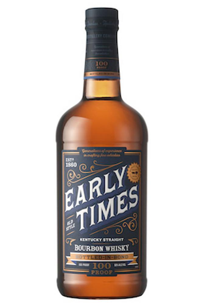 Early Times Bottled In Bond Bourbon 1L