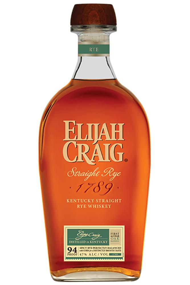 Elijah Craig Straight Rye
