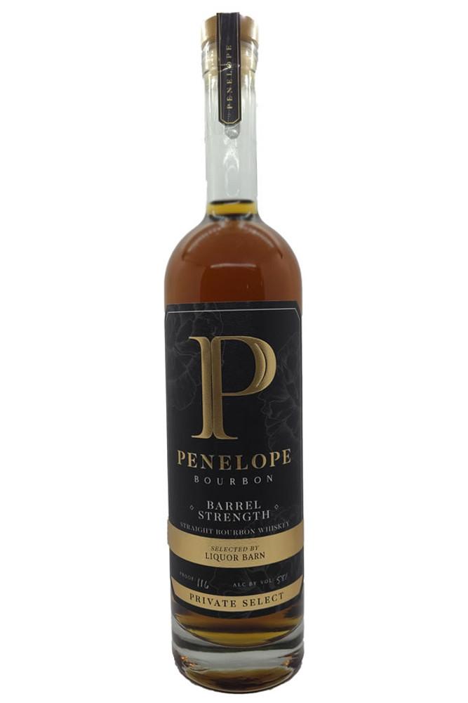 Penelope Bourbon Liquor Barn Private Select Barrel Strength