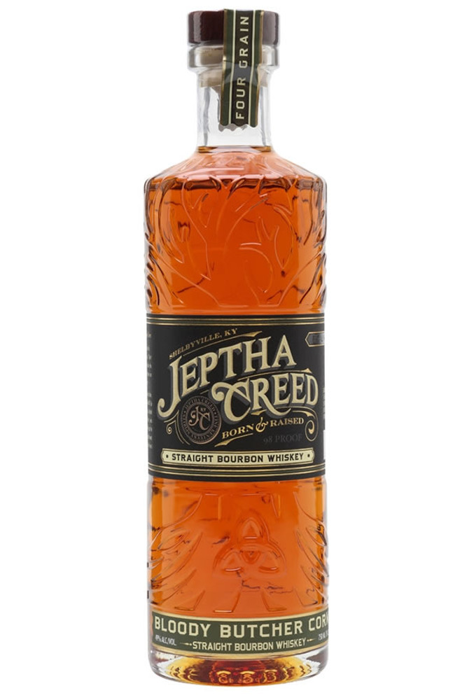 Jeptha Creed Four Grain Bloody Butcher Bourbon