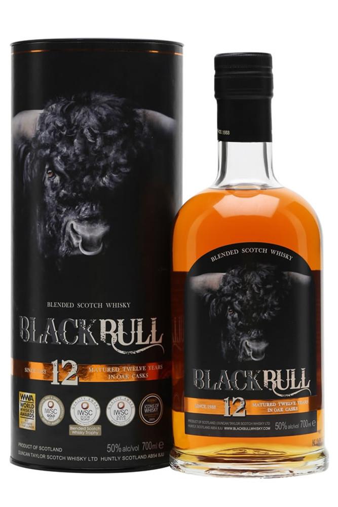 Black Bull 12 Year Scotch