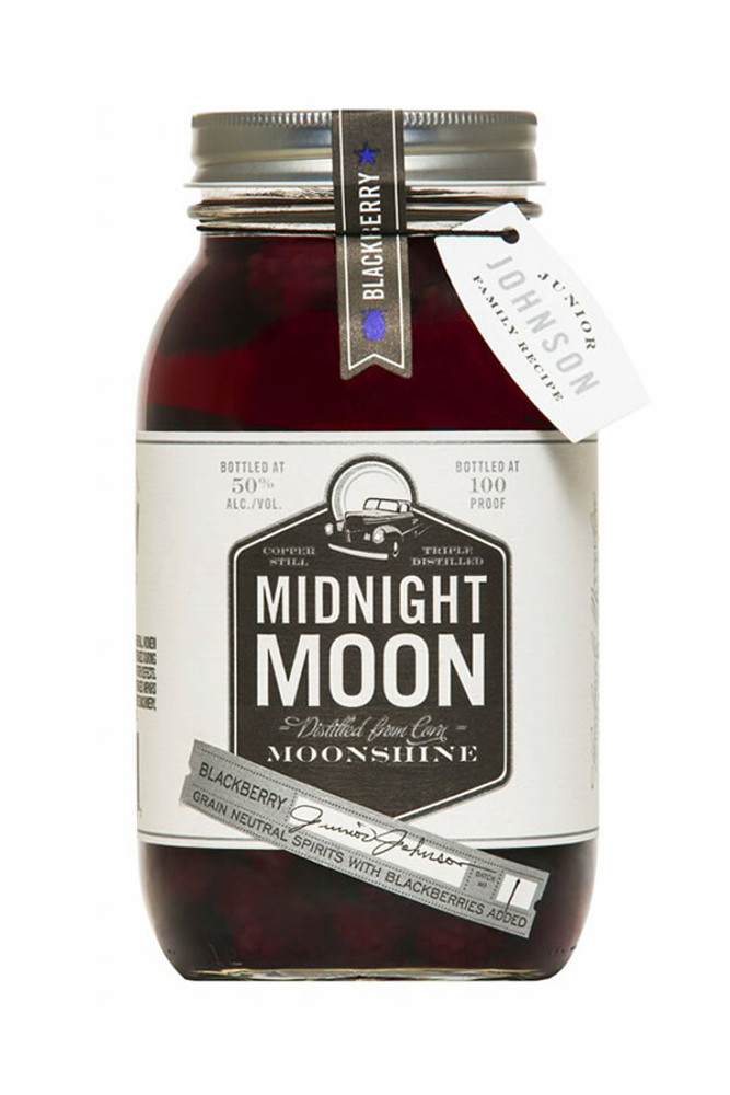 Junior Johnson's Midnight Moon Blackberry Moonshine